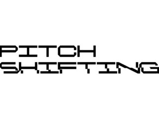 Pitch Shifting