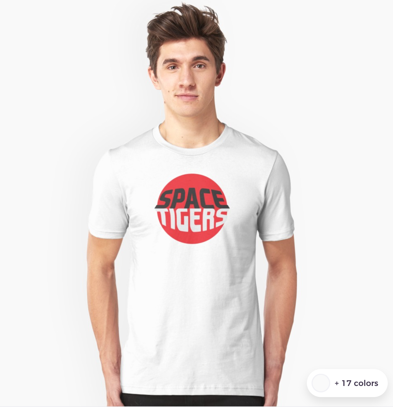 space tigers t-shirt